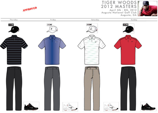 new arrival a3919 138a3 The first round of the 2012 Masters kicks off at Augusta National on  Thursday, April 5, and concludes on Sunday, April 8.
