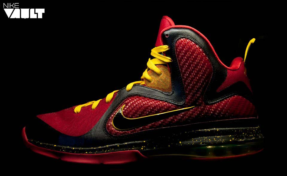 Nike LeBron 9 - Fairfax Home & Away Player Exclusives ...