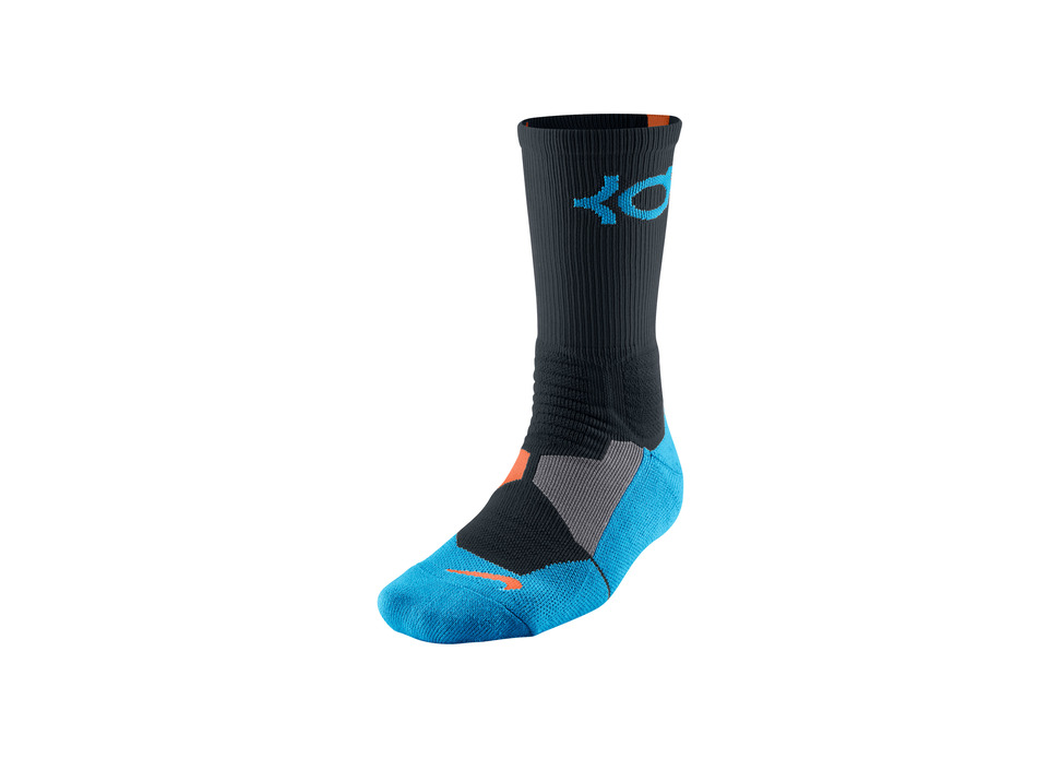 Nike KD 6 VI Thunder Away Hyper Elite Crew Sock