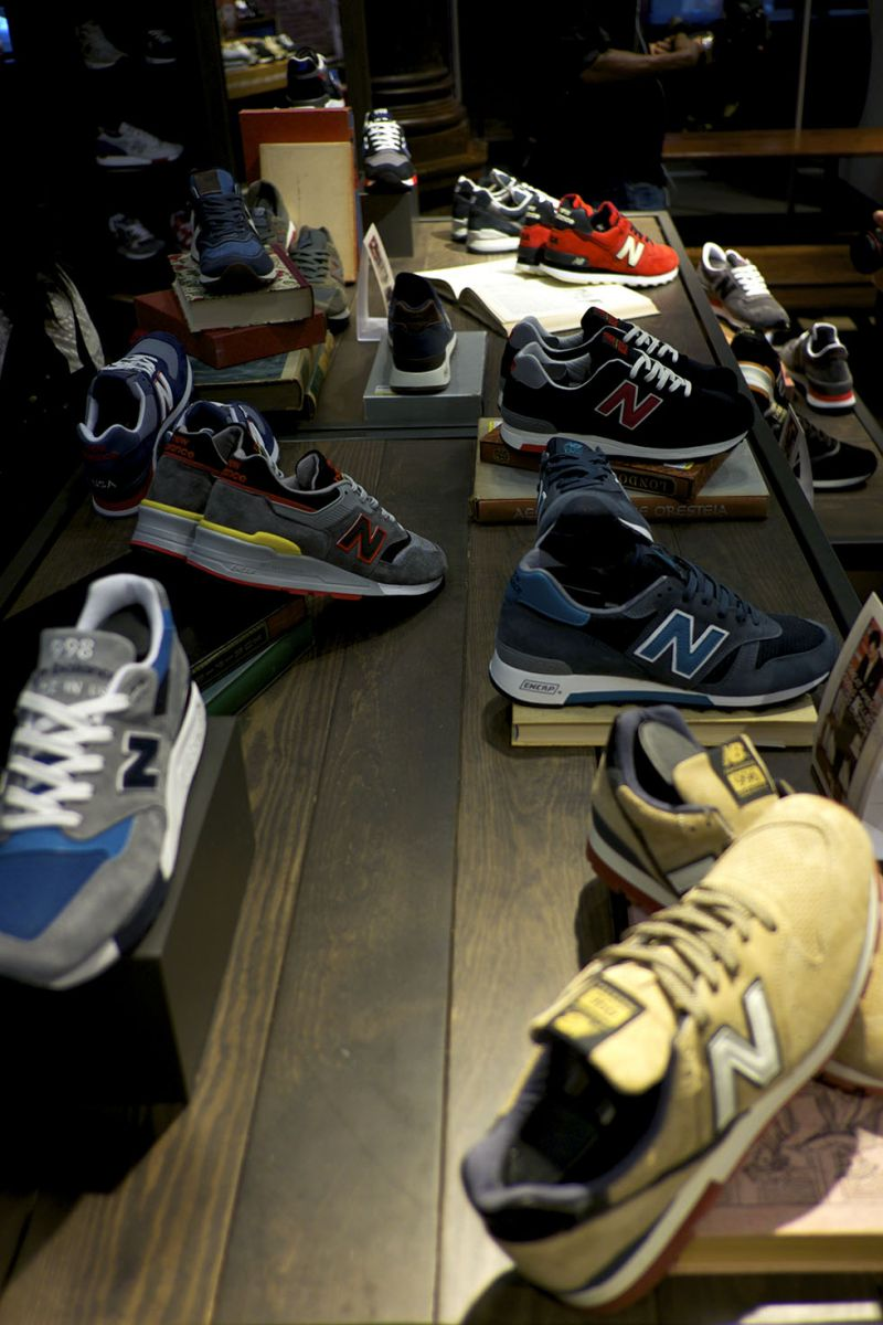 New Balance Reveals Great American Novels Collection at Archives Event (7)