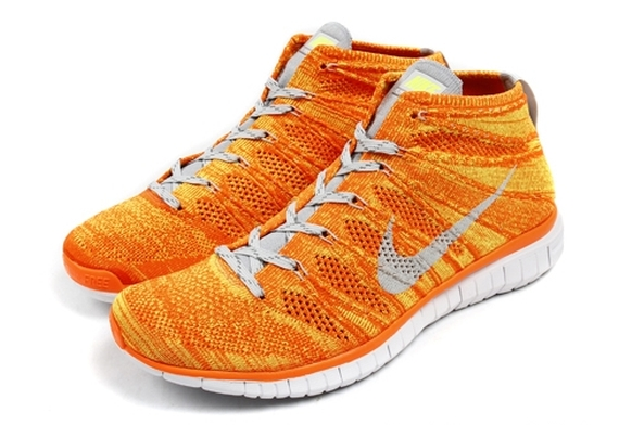 Stay tuned to Sole Collector for further details on the Orange Volt Nike  Free Flyknit Chukka. 56bdb7870