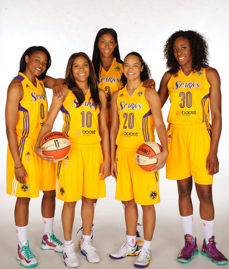 Los Angeles Sparks Team