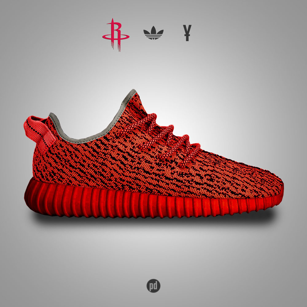 adidas Yeezy 350 Boost for the Houston Rockets