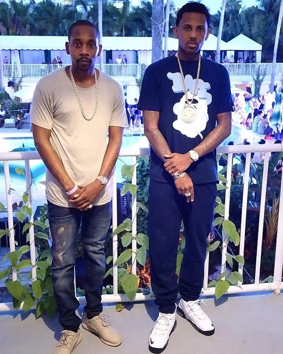 Fabolous wearing the Nike Air Max Sensation