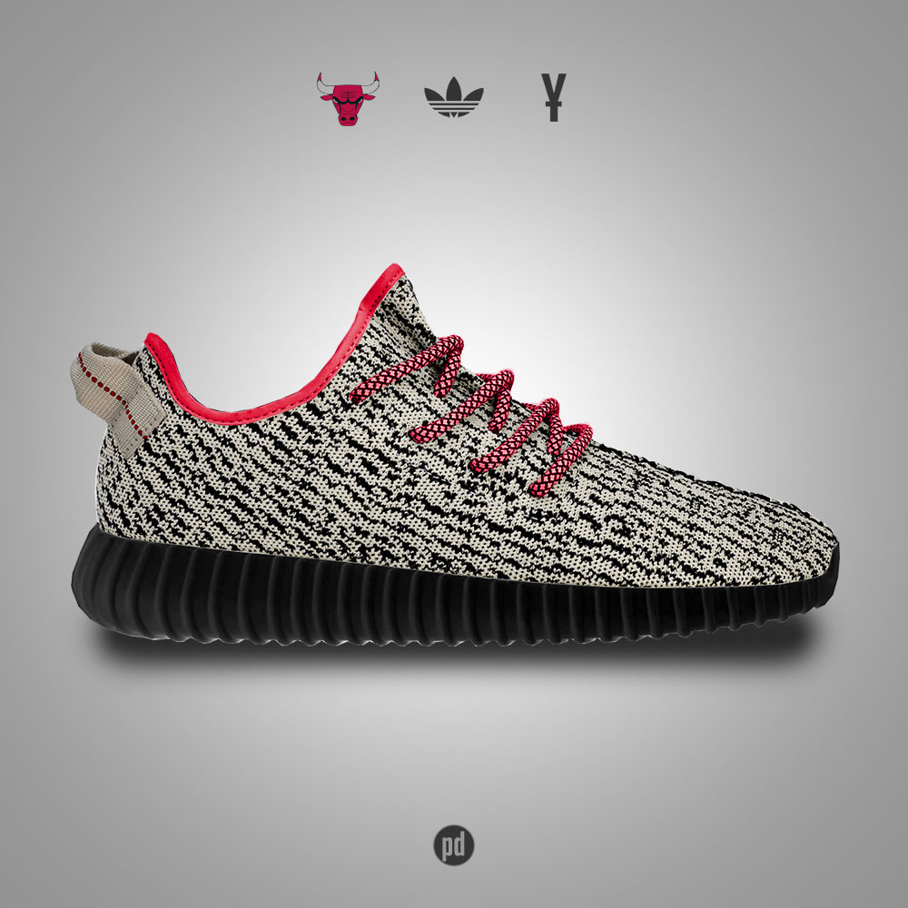 adidas Yeezy 350 Boost for the Chicago Bulls