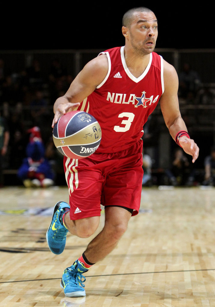 Jesse Williams wearing Nike Kobe 9 Elite Perspective