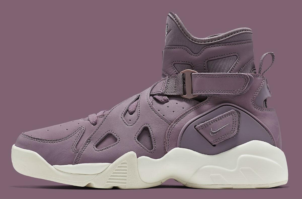 low priced 61019 9daaf Nike Air Unlimited Purple Smoke Side 854318-551
