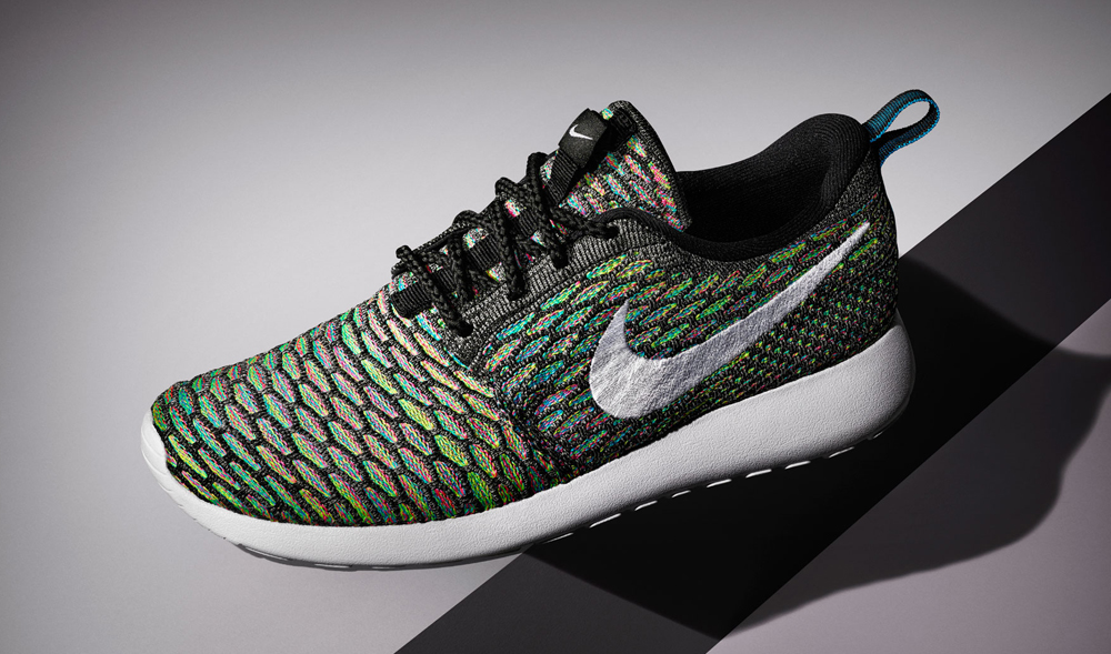 new concept b297e caefd womens roshe run flyknit