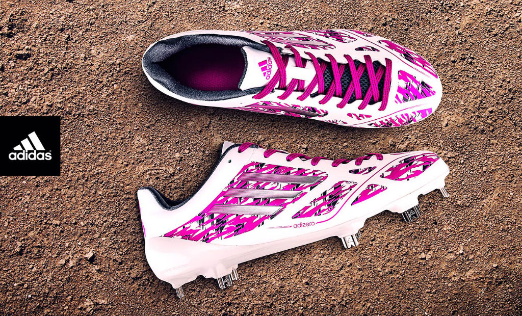 adidas adizero 5-Tool 2.0 Mothers Day Cleat for Upton & Crisp (1)