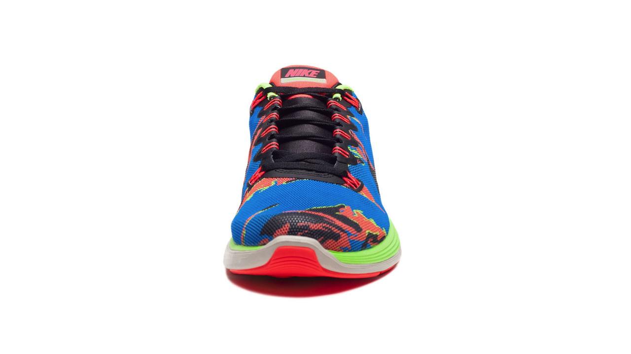 053692d3d398 Nike LunarGlide+ 5 EXT - Blue Hero   Atomic Red   Flash Lime