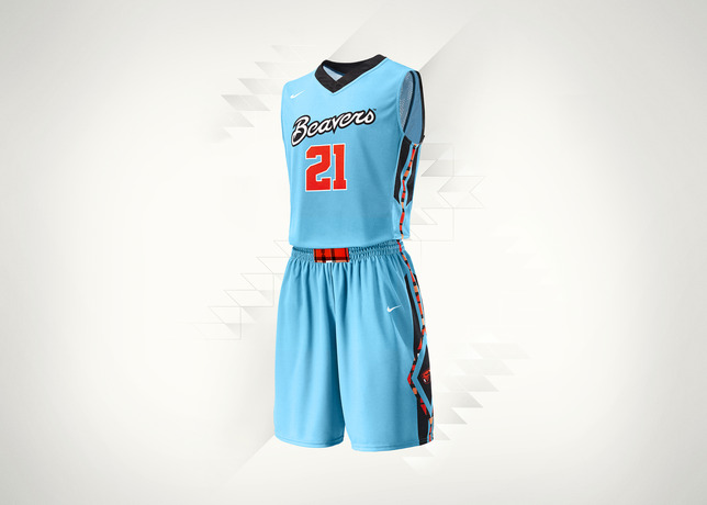 Nike N7 Uniform for Oregon State