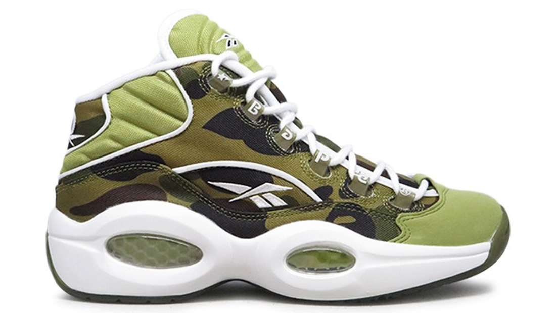 Reebok Question Mid x BAPE