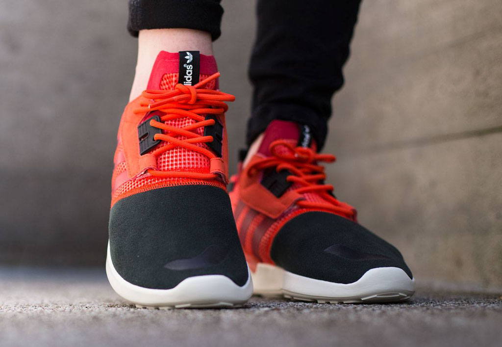 adidas ZX 8000 Boost Solar Red (4)