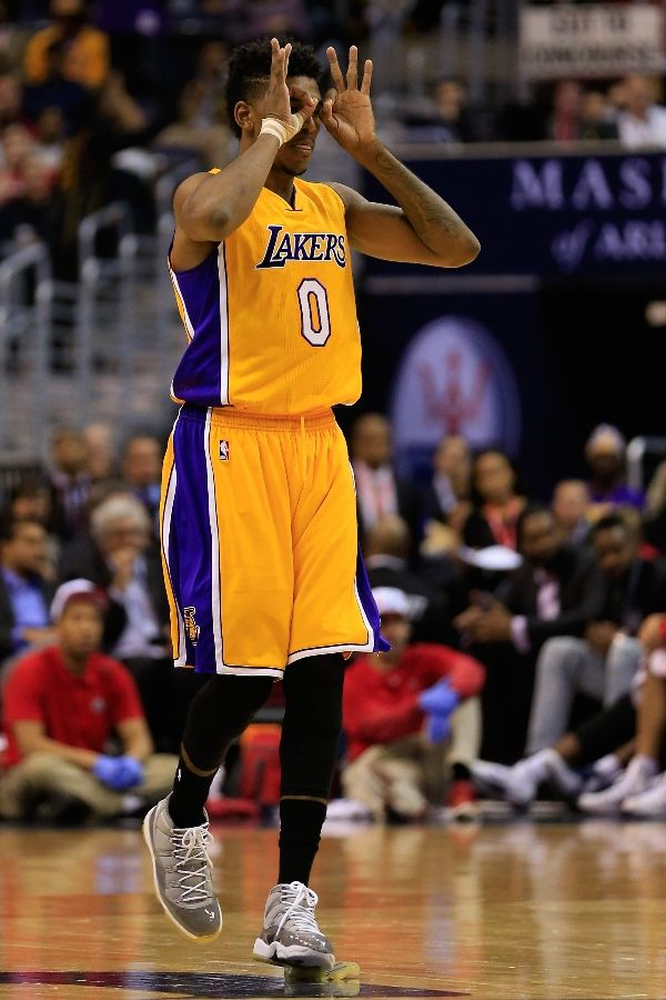 SoleWatch  Nick Young Blew The Sole of His Air Jordan 11 b9569feb3a13