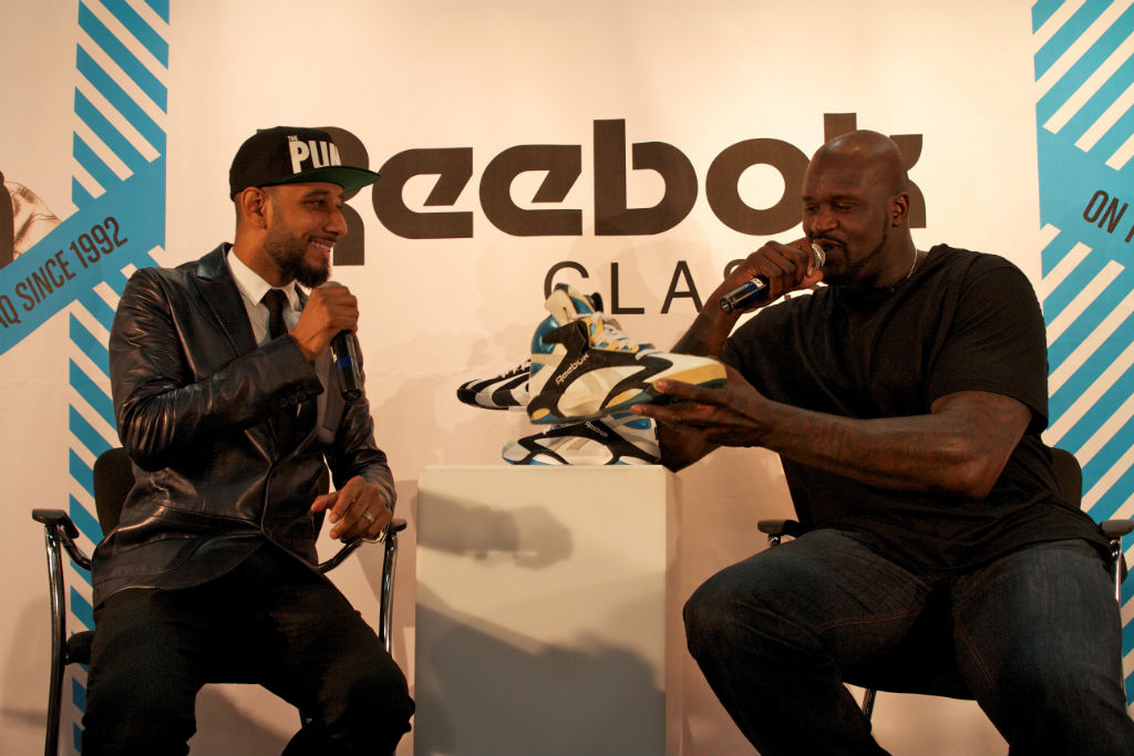 Shaq, Swizz Beatz & Tyga For Reebok Classics At Project (6)
