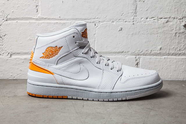 Air Jordan 1 Retro '86 White/Kumquat Release Date 644490-115 (1)