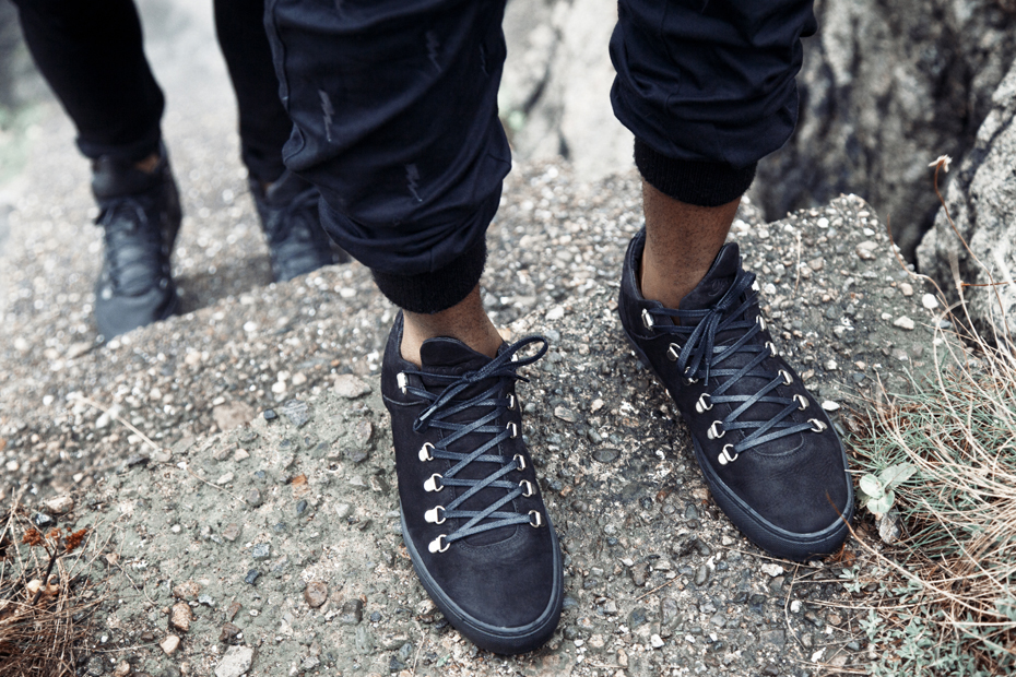 Filling Pieces AW 13 Mountain Cut low black