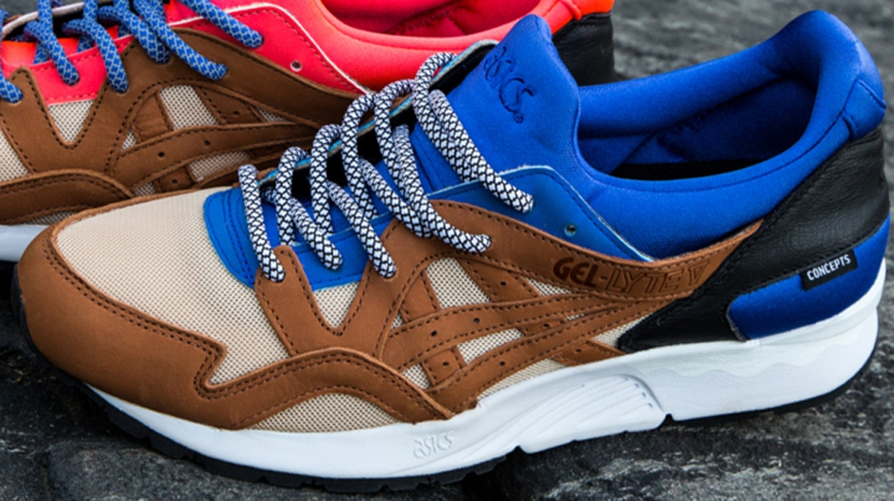 Concepts x Asics Gel-Lyte V Mix & Match Blue