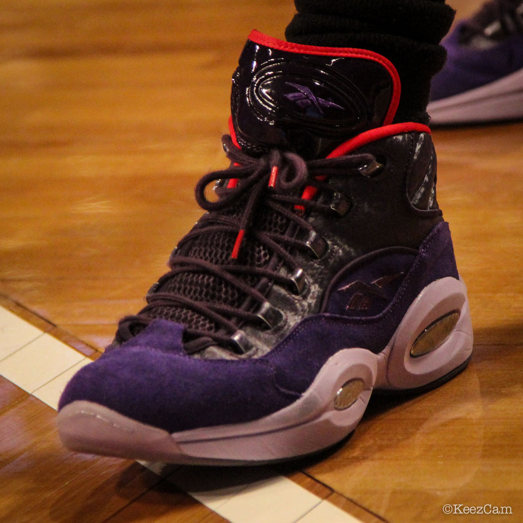 Gerald Green wearing Reebok Question Ghost of Christmas Future