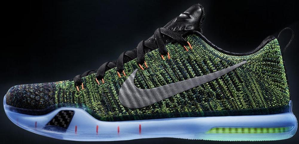 Nike Kobe X Elite Low Premium Multi-Color/Metallic Silver