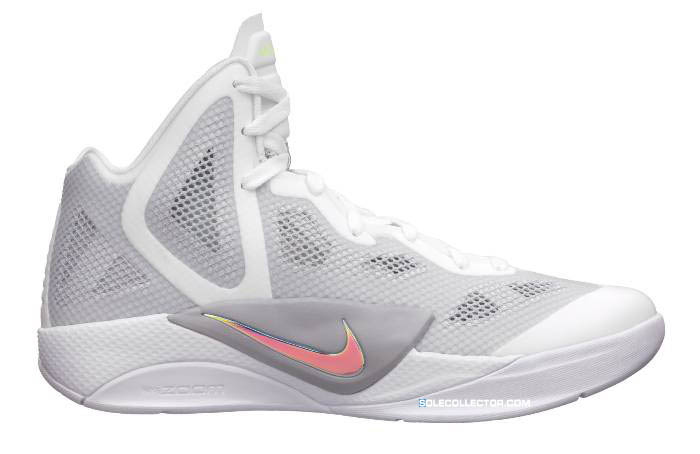 quality design ef70b 44827 Nike Zoom Hyperfuse 2011 White Metallic Luster Wolf Grey Votl Team Red  454136-100