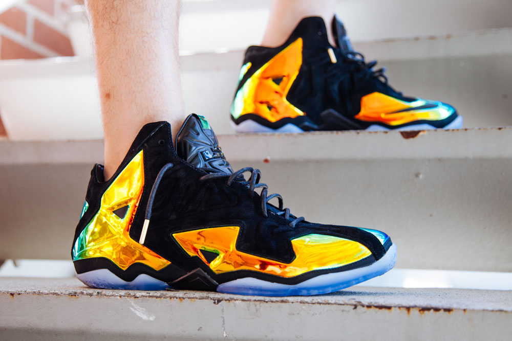 watch 71c09 81737 On-Foot: Nike LeBron 11 EXT King's Crown | Sole Collector
