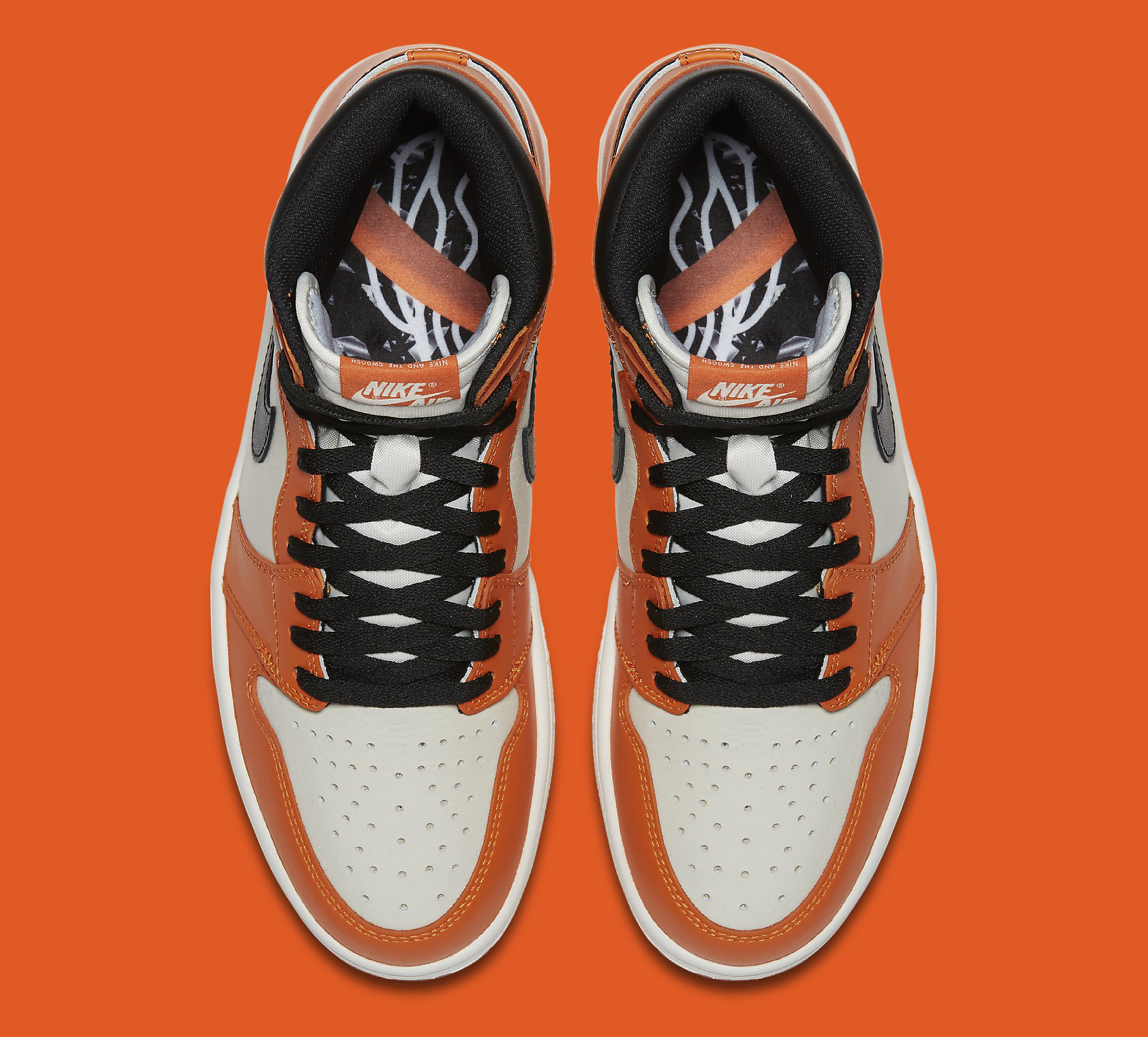 sports shoes 461a6 da73e Image via Nike Air Jordan 1 Shattered Backboard Away 555088-113 Top
