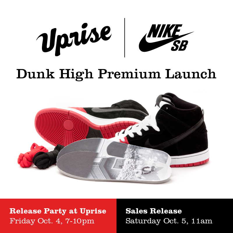 Uprise Chicago x Nike SB Dunk High Premium release date