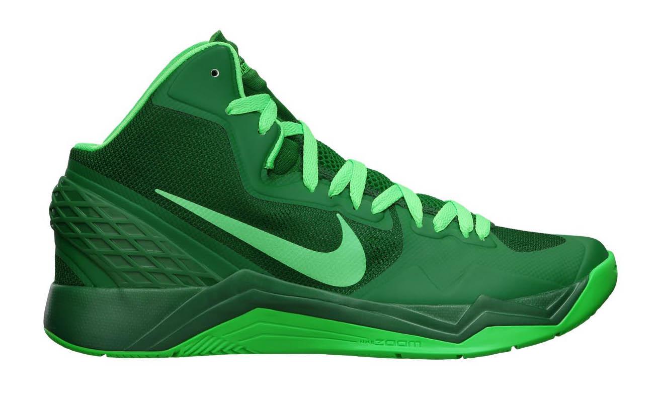 Nike Zoom Basketball Shoes Green