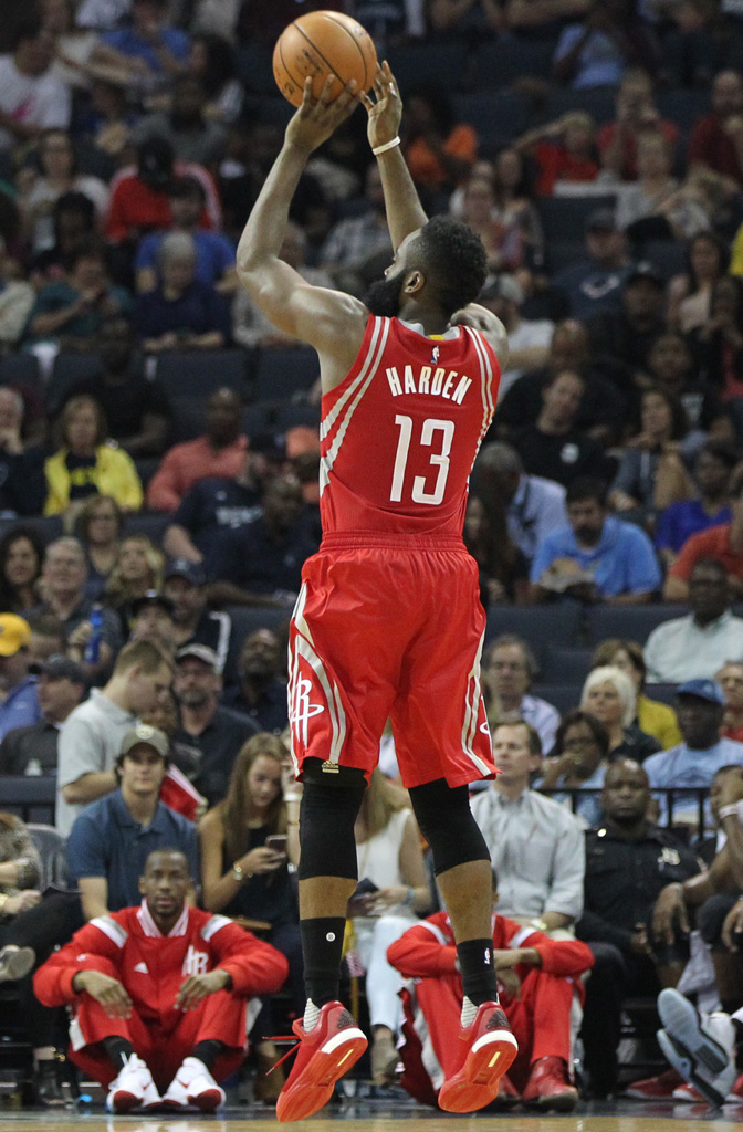 20c614231ee SoleWatch  James Harden Makes His adidas Debut in the Crazylight ...