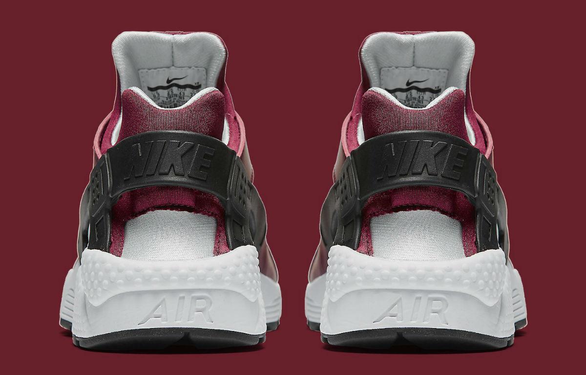 Nike Air Huarache Team Red Heel 318429-603