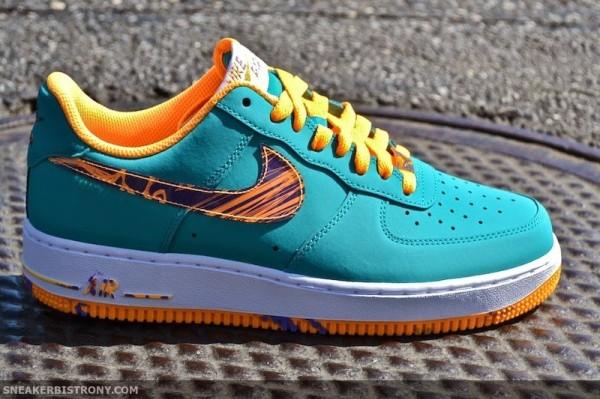 Nike Air Force 1 Marbré Paquet Swoosh