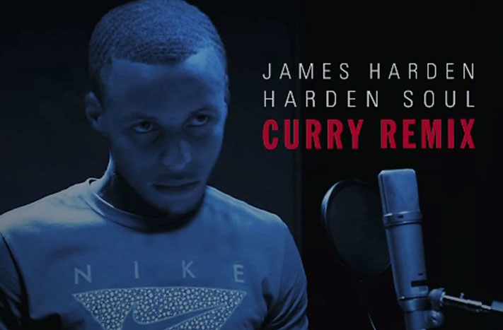 Stephen Curry Remixes Harden Soul For Foot Locker