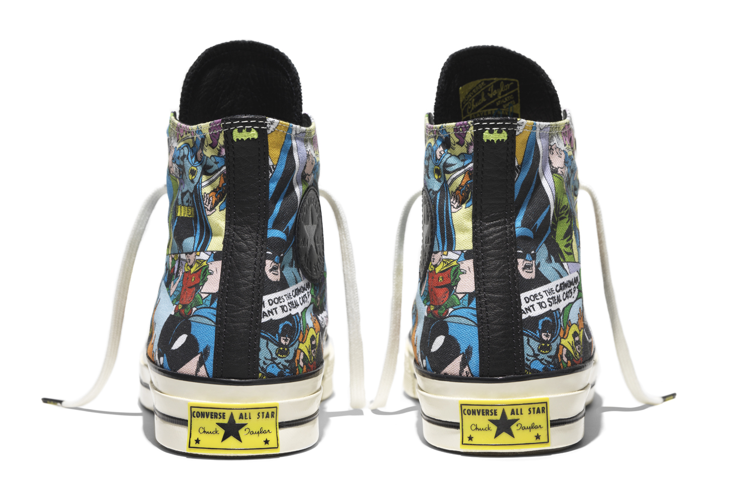 Batman Converse Sneakers Heel