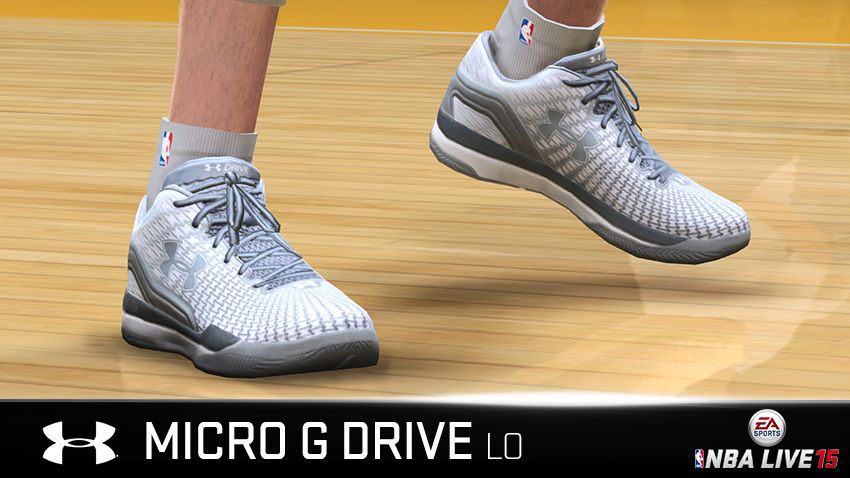 NBA Live 15 Sneakers: Under Armour ClutchFit Drive Low