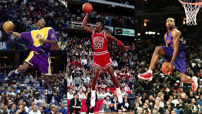 best cheap af33c 928ef The Complete History of NBA Slam Dunk Champions and the Shoes They Wore