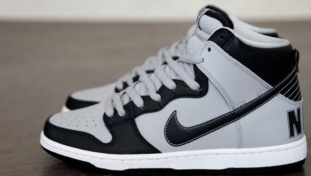 Nike Dunk High Premium SB Dark Obsidian/Dark Obsidian-Wolf Grey