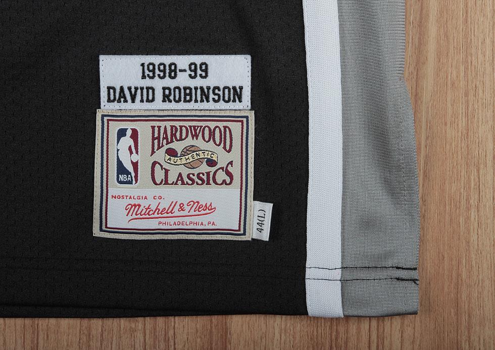 huge selection of d05fe 2129d Jersey Spotlight: David Robinson San Antonio Spurs Hardwood ...