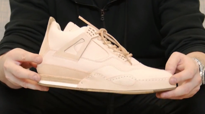 first rate f2b2b 1c50a ... Hender Scheme s Air Jordan 4 Copycat. More on the  1,000 Jordan 4  ripoff.