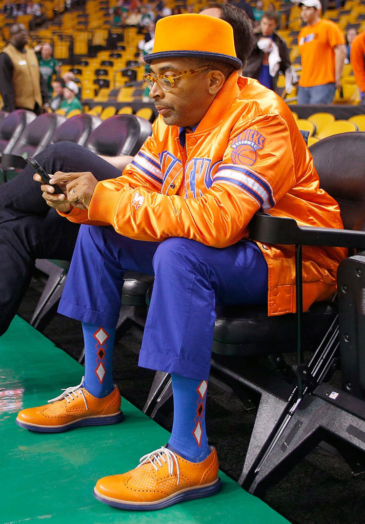 "Cole Haan LunarGrand Wingtip ""Knicks Orange"" for Spike Lee by Revive Customs (5)"