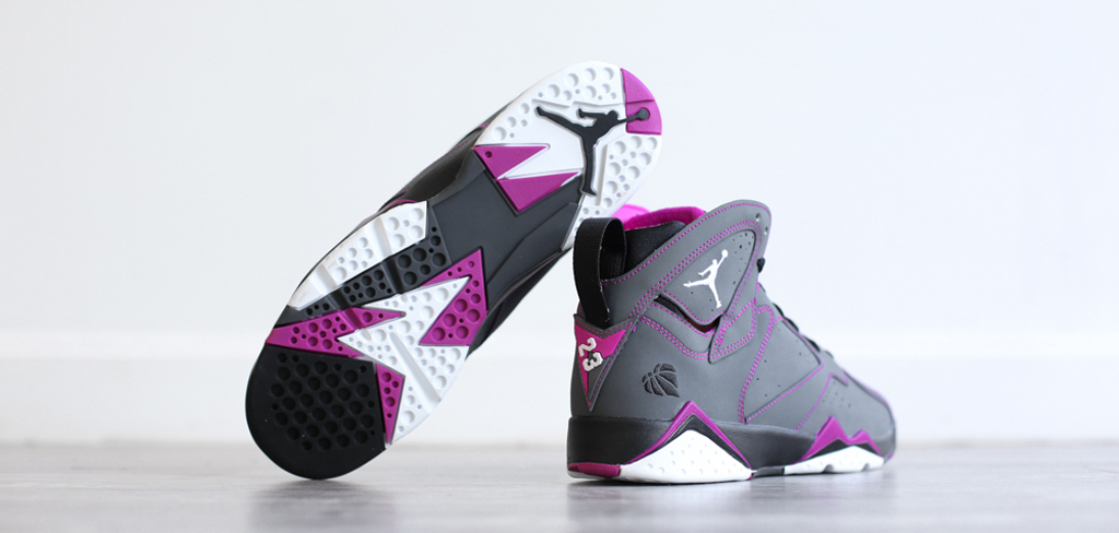 huge discount 56190 9a761 Girls Air Jordan 7 Retros for Your Valentine | Sole Collector