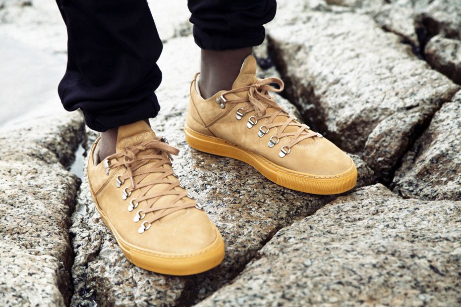 Filling Pieces AW 13 Mountain Cut tan suede