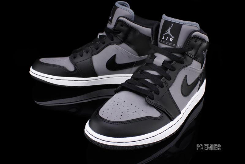 air jordan 1 black and grey