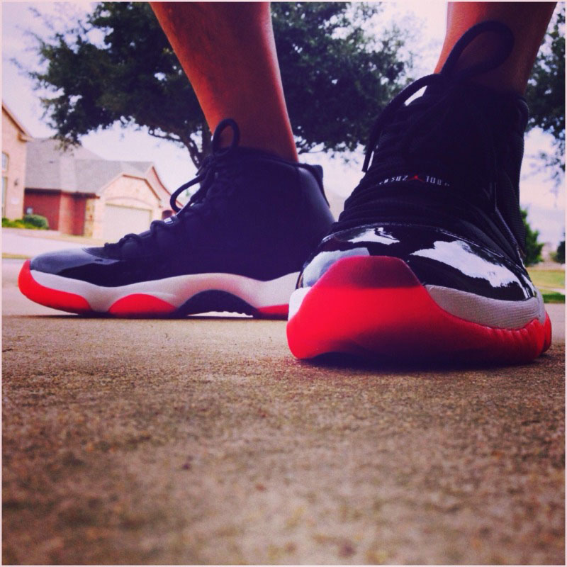 Spotlight // Forum Staff Weekly WDYWT? - 11.16.13 - Air Jordan 11 XI Retro Black/Red by Tito_Deo