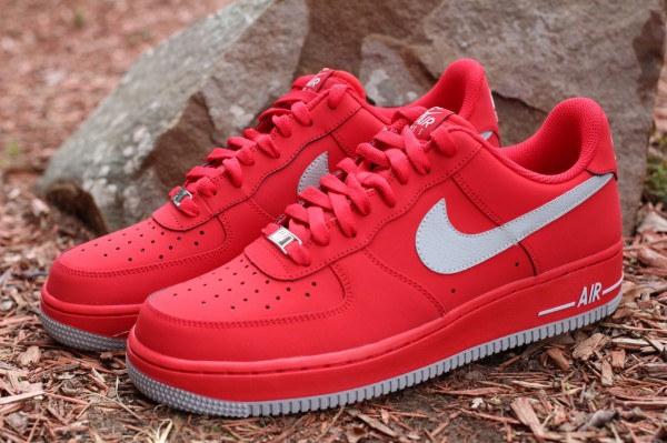 air force 1 low all red