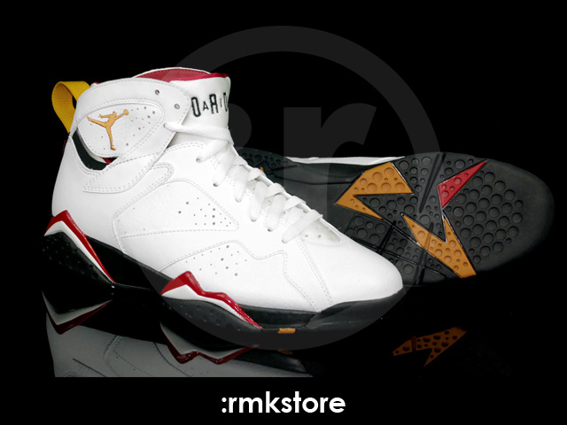 20003f38850 ... Air Jordan Retro 7 - White Cardinal Red Black Bronze 304775-104 ...