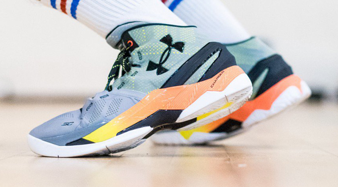 Here s What the Under Armour Curry 2 Looks Like On-Feet  6e87abd94c