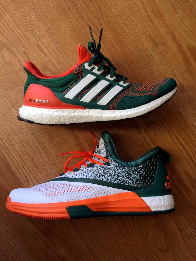 The Miami Hurricanes Have More Exclusive adidas Sneakers | Sole ...