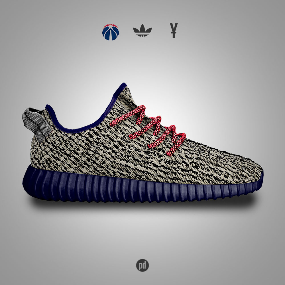 adidas Yeezy 350 Boost for the Washington Wizards