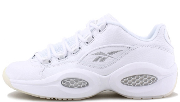 Reebok Question Low White/Pure Silver